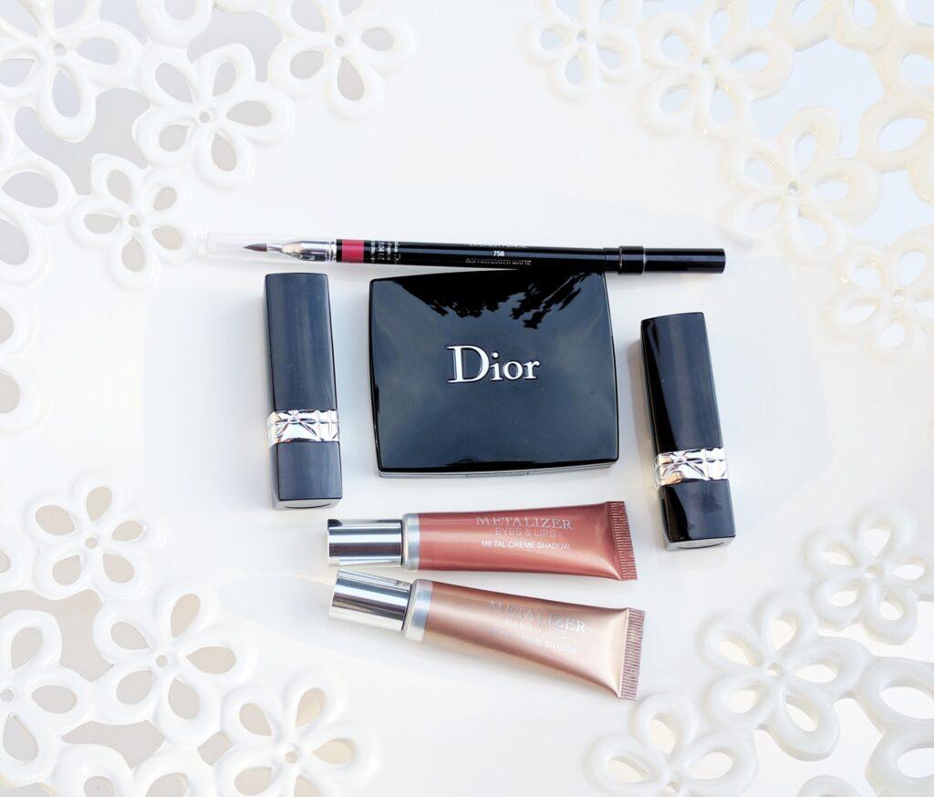 Dior Metallics Fall 2017