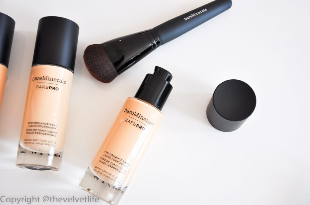 barePro Performance Wear Liquid Foundation with SPF 20, New Launches