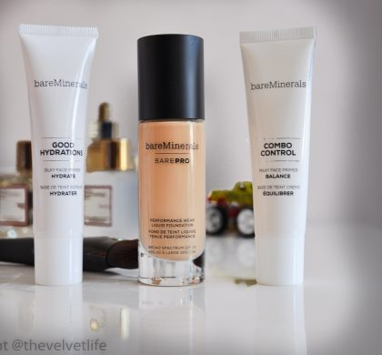 bareMinerals bareProPerformance Wear Liquid Foundation with SPF 20, New Launches