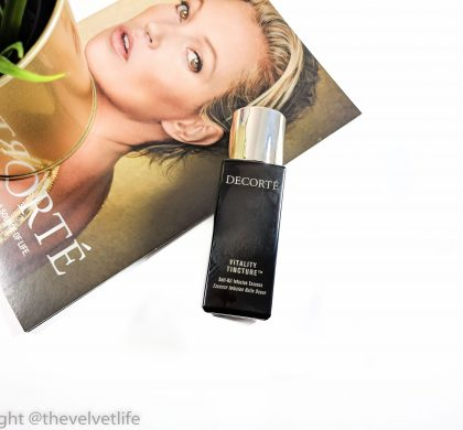 Decorte Vitality Tincture Soft-Oil Infusion Essence – Why I love it?