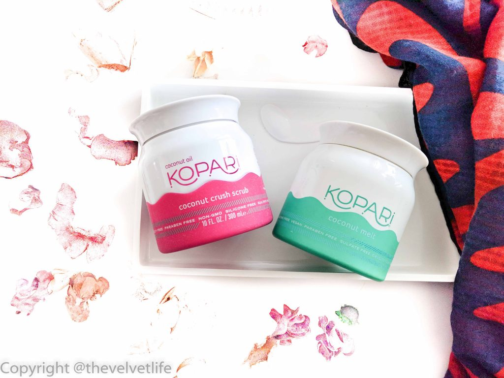 Kopari Coconut Crush Scrub and Kopari Coconut Melt