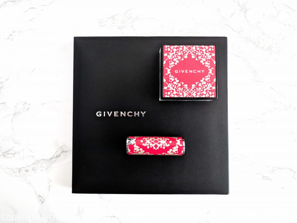 Givenchy Prisme Libre Chinese New Year Loose Powder, and Givenchy Le Rouge Chinese New Year Lipstick