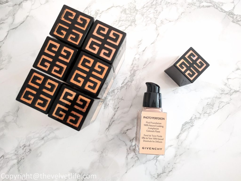Givenchy Photo'Perfexion Fluid Foundation review swatch