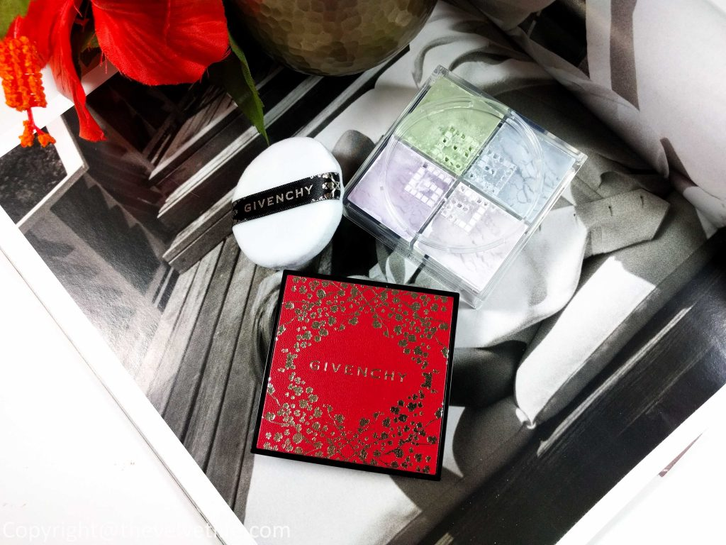 GivenchyPrisme Libre Chinese New Year Loose Powder, and GivenchyLe Rouge Chinese New Year Lipstick 2018