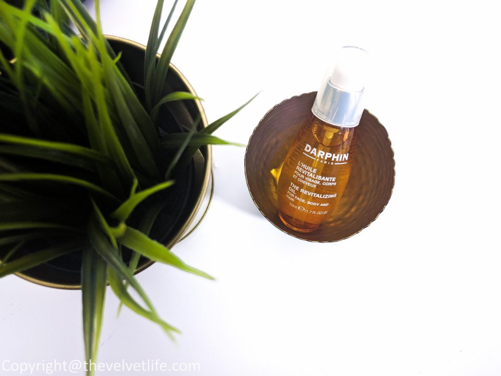 Darphin Revitalizing Oil review