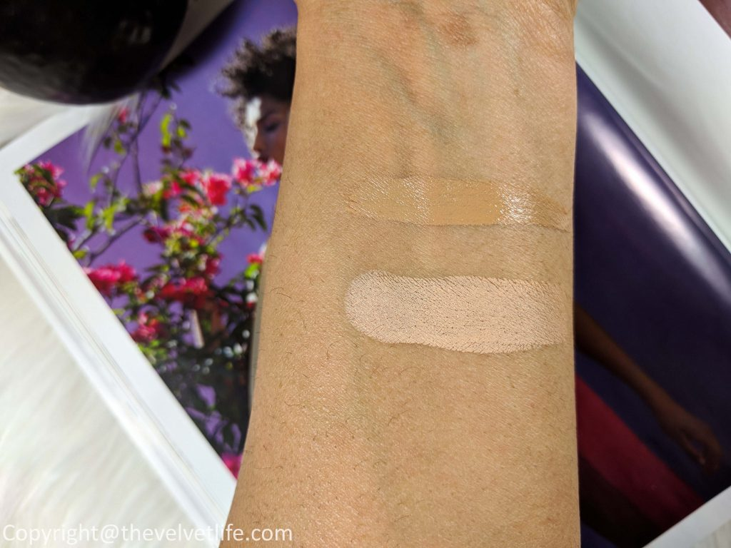 The Soft Fluid Long Wear Foundation SPF20 and The Concealer from Skincolor de la mer