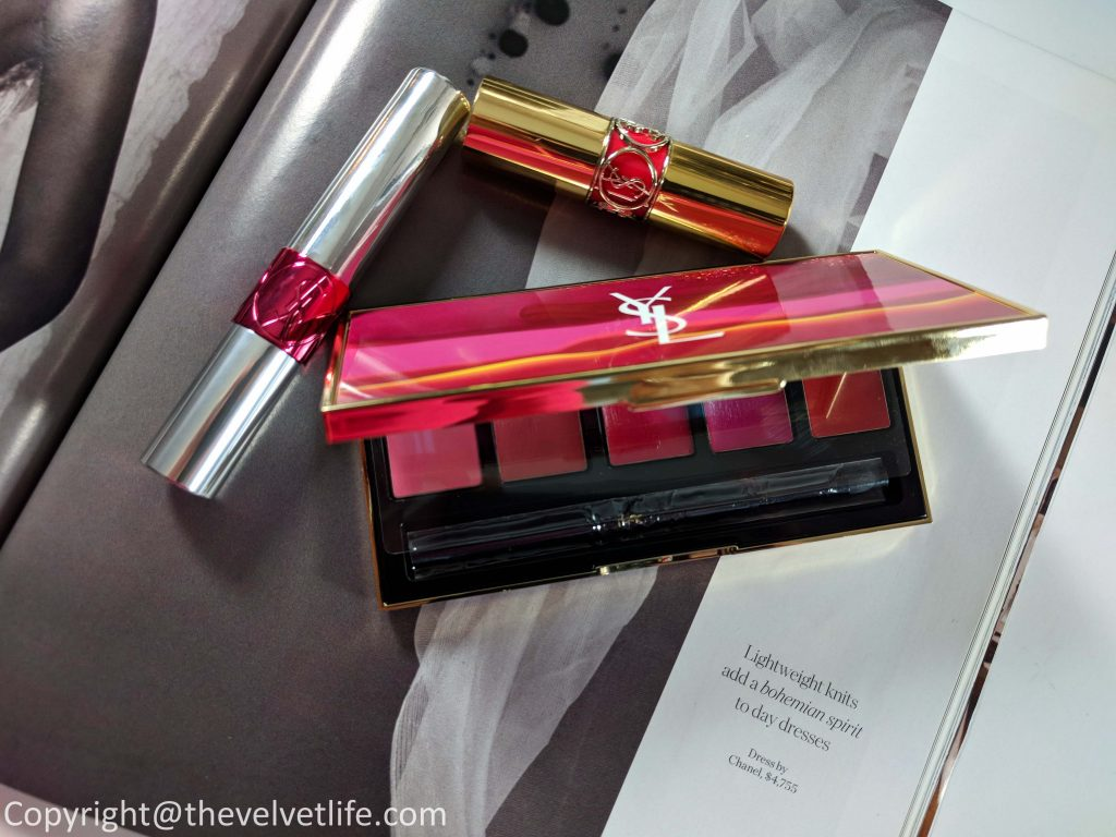 Yves Saint Laurent Spring 2018 Collection the Pop Illusion Lip Palette