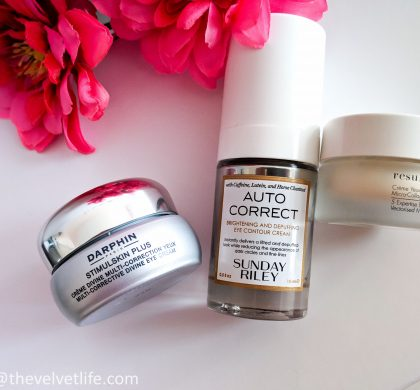 3 Eye Creams for Puffiness, Dark Circles, Dullness, Lines and Wrinkles