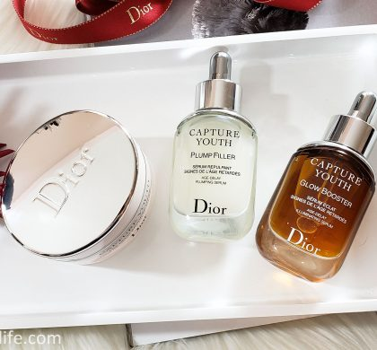 Dior Capture Youth – The Age Delay Skin Regimen