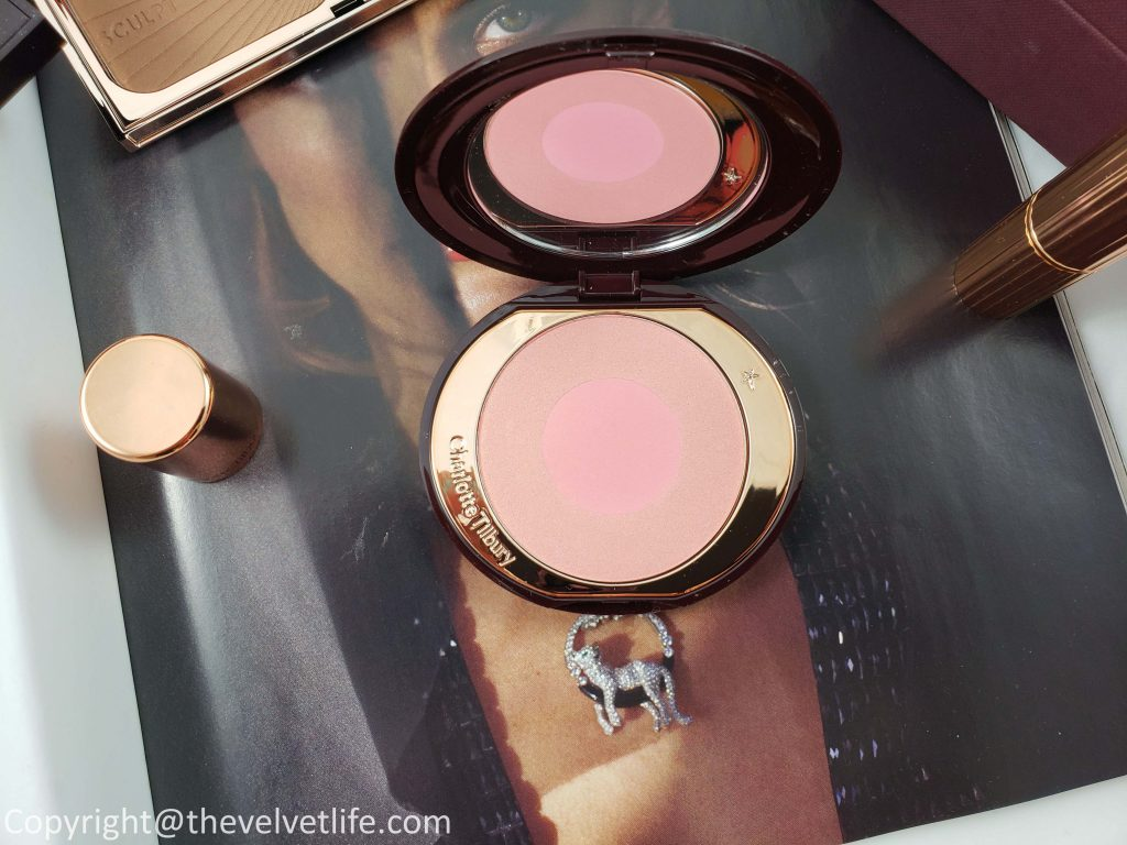 Charlotte Tilbury makeup review swatches