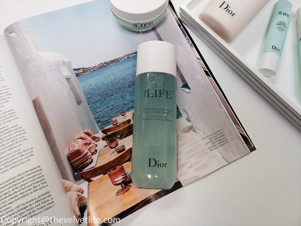 Dior Hydra Life skin care