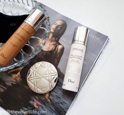 Dior Backstage Airflash Radiance Mist, Diorskin Mineral Nude Bronze Powder