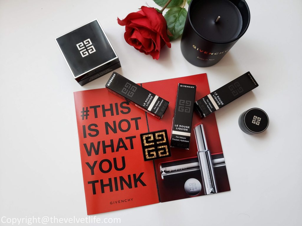 Givenchy Le Rouge Liquide review swatch