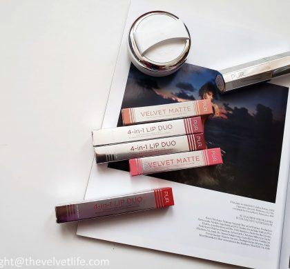 Pur Cosmetics – Velvet Matte & 4-in-1 Lip Duo