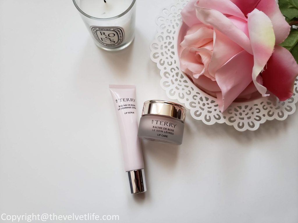 By Terry Baume de Rose Lip Care and By Terry Baume de Rose Lip Scrub
