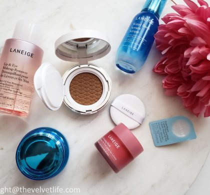 Laneige BB Cushion Hydra Radiance, And Some New Additions