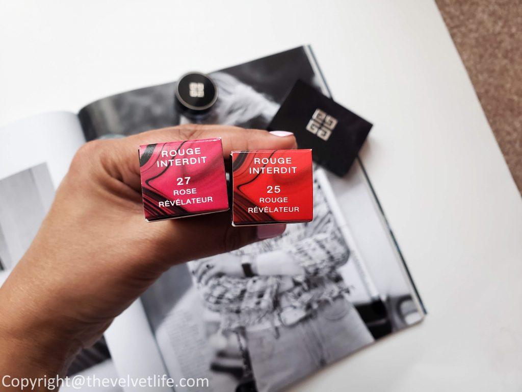 Givenchy Rose Révélateur- New Rouge Interdit Satin Lipstick