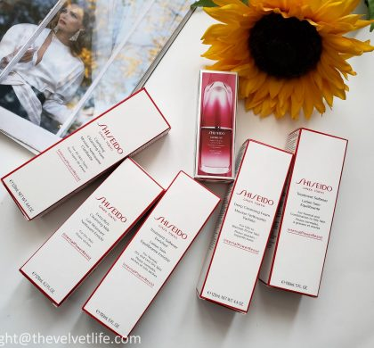 Shiseido Skincare Products I am Loving