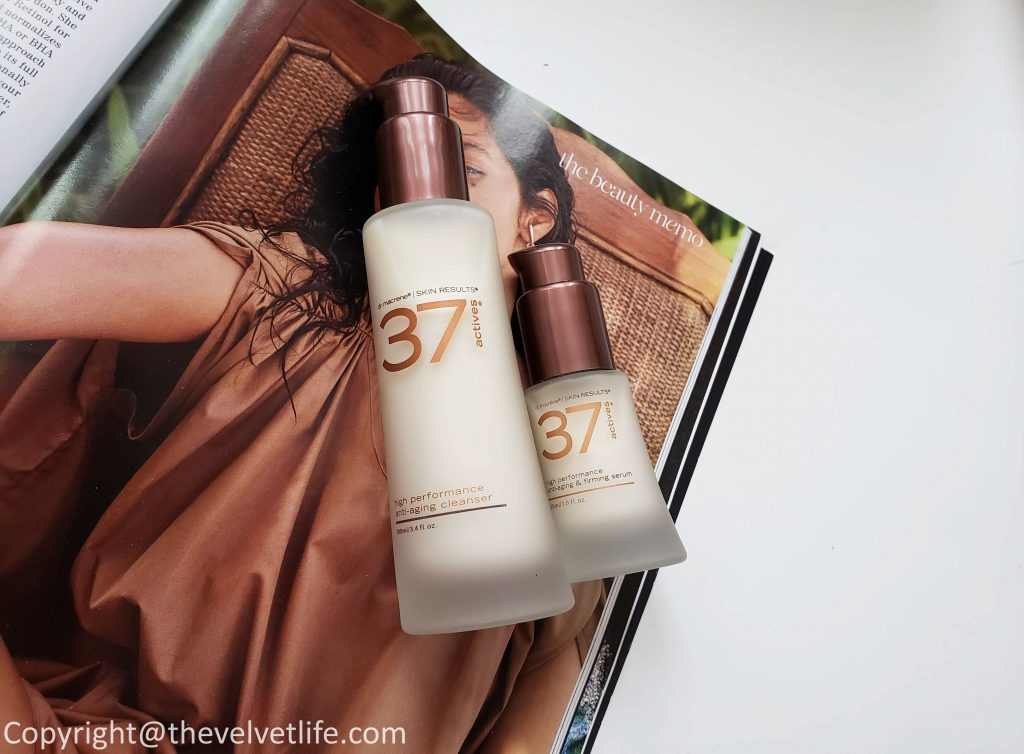 37 ActivesHigh-Performance Anti-Aging Cleansing Treatment and 37 Actives High-Performance Anti-Aging & Firming Serum