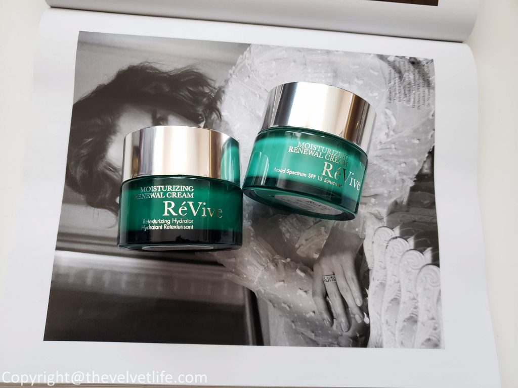 Revive Skincare Moisturizing Renewal Cream Nightly Retexturizer and Revive Skincare Moisturizing Renewal Cream - Broad Spectrum SPF 15 Sunscreen