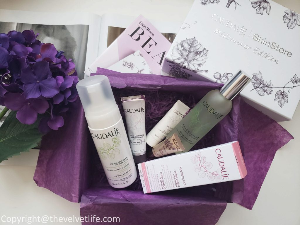SkinStore x Caudalie Limited Edition Beauty Box