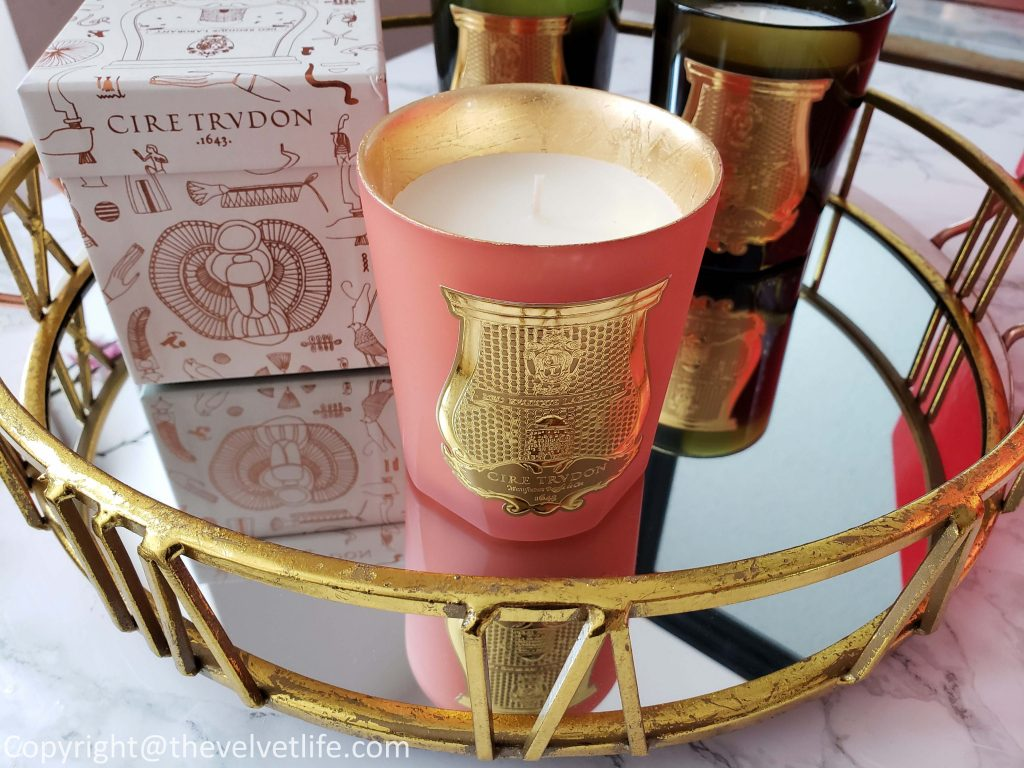 Cire Trudon Gizeh Scented Candle Christmas 2018