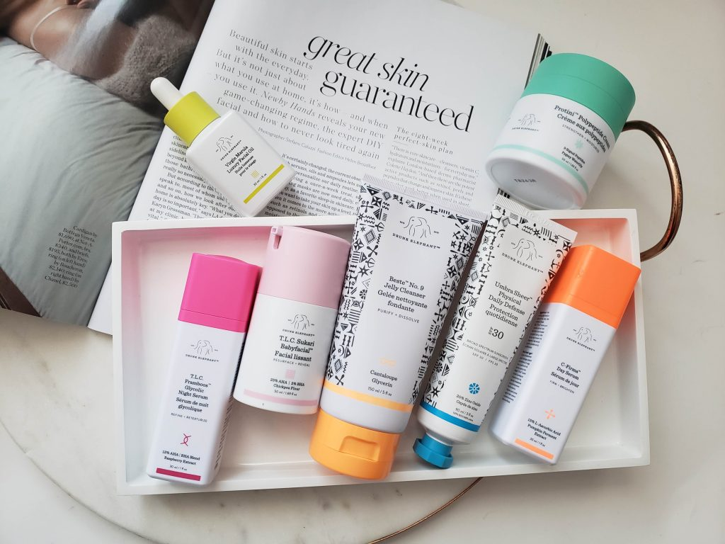 Drunk Elephant skincare review