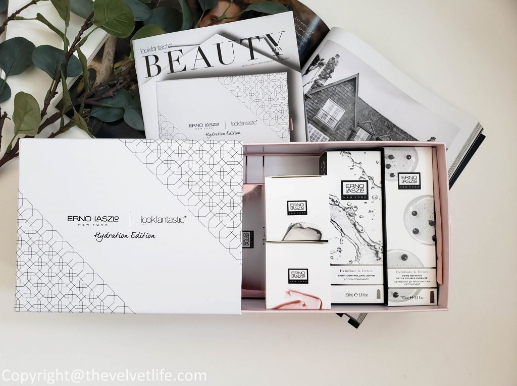 Erno Laszlo x Lookfantastic/Skinstore Limited Edition Beauty Box