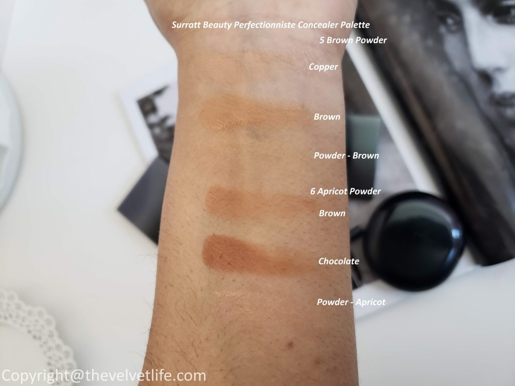 Surratt Beauty Perfectionniste Concealer Palette and Perfectionniste Complexion Brush