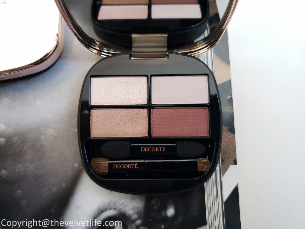 Decorte Powder Blush, Contouring eyeshadow