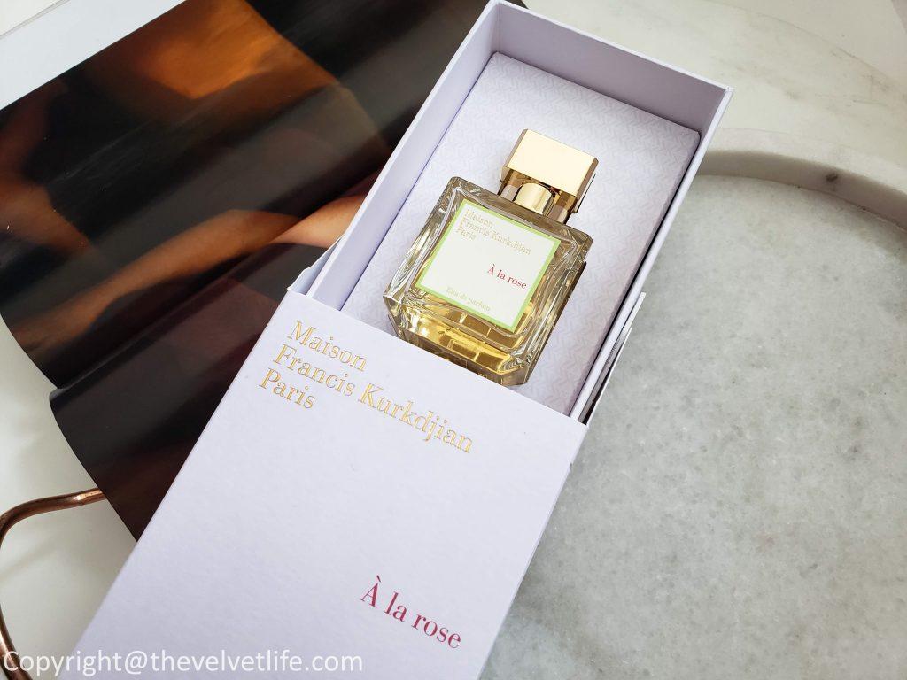 À la rose Eau de Parfum - Maison Francis Kurkdjian Paris