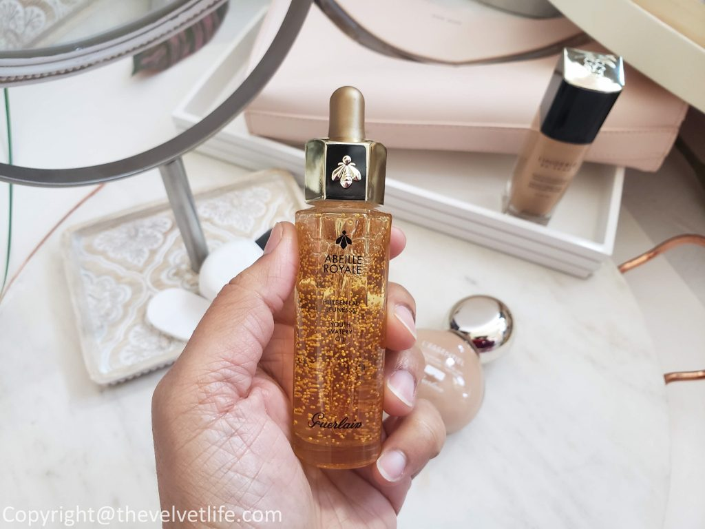 Guerlain L'Essentiel Natural Glow Foundation Abielle Royal Youth Watery Oil