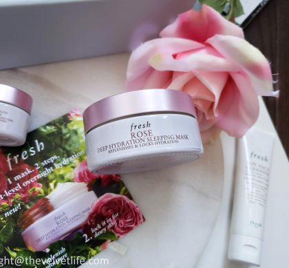 Fresh Rose Deep Hydration Sleeping Mask – NEW