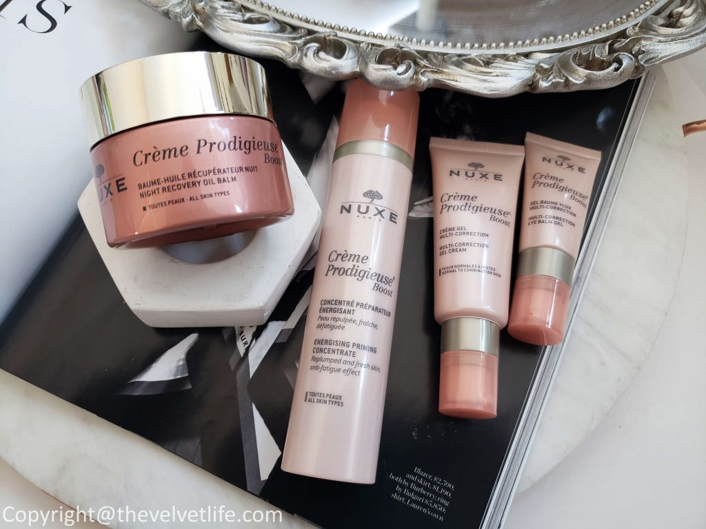 Nuxe Crème Prodigieuse Boost Skincare Collection