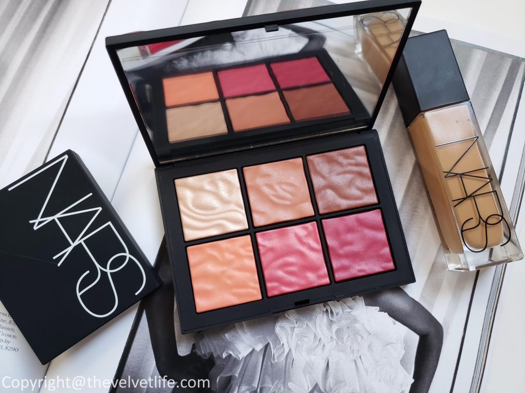 Nars Exposed Cheek Palette, Explicit Color Lip Duo