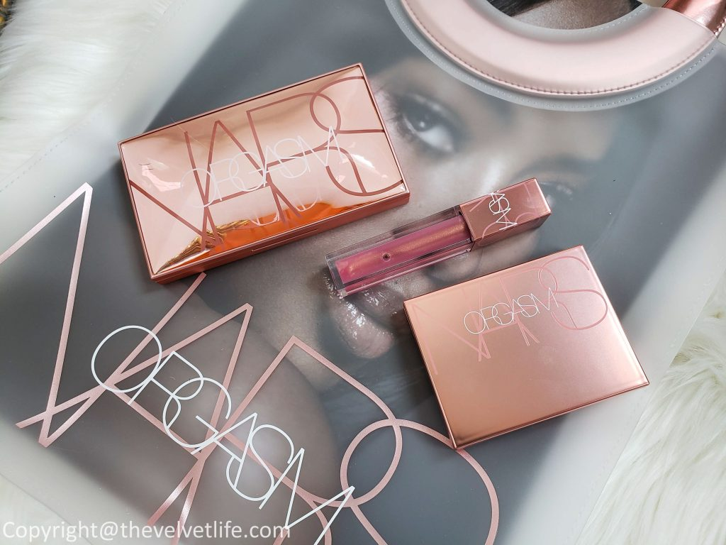 Nars Orgasm Collection Summer 2019 with Orgasm Blush, Endless Orgasm Palette, and Oil-infused lip tint