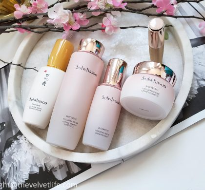 Sulwhasoo Bloomstay Collection – Routine of Beauty