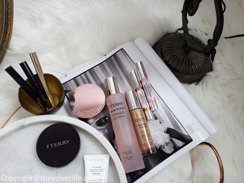 By Terry Spring Summer 2019 collection Brightening CC Serum Powder, Baume De Rose Tinted Lip Care Crayon, All Over Oil, Primer