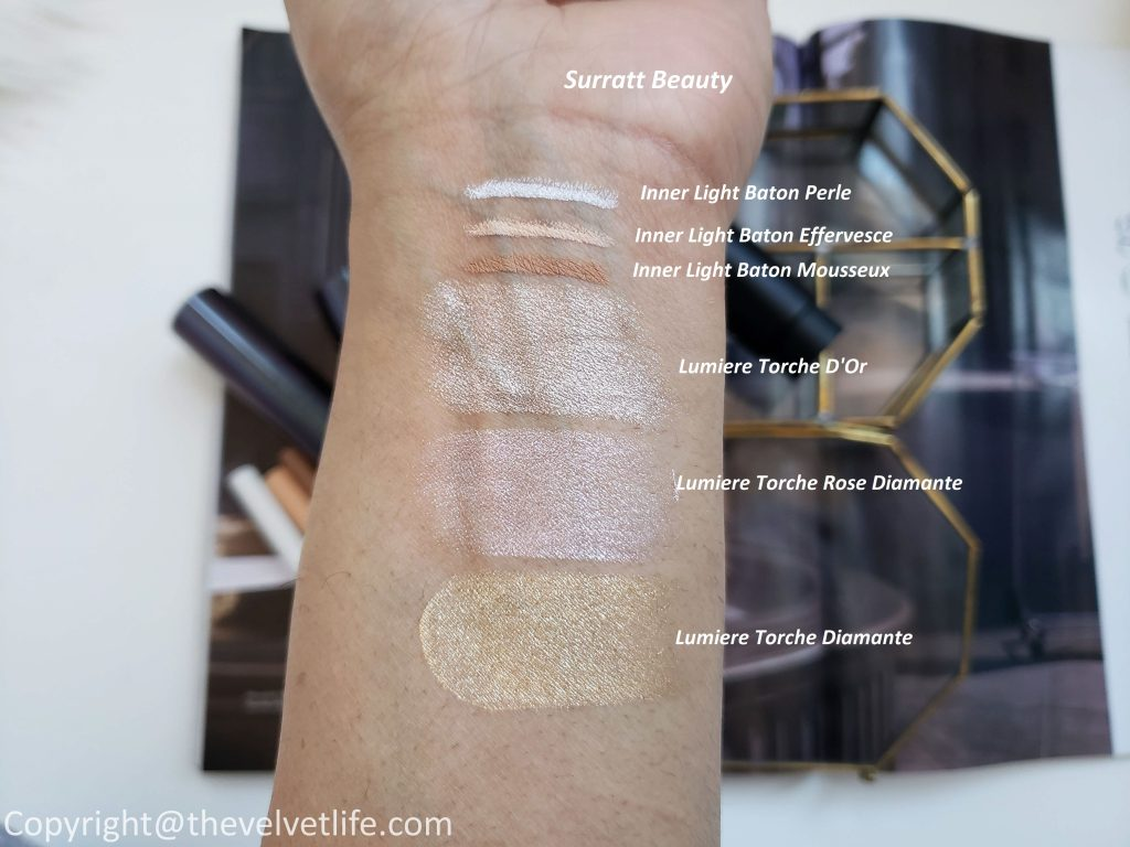Surratt Beauty Torche Lumiere Highlighter and Inner Light Baton