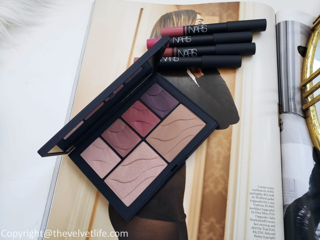 Nars Summer 2019 Edit Heat Of The Night Collection with Summer 2019 Face Palettes, Velvet Matte Lip Pencils, and Satin Lip Pencils