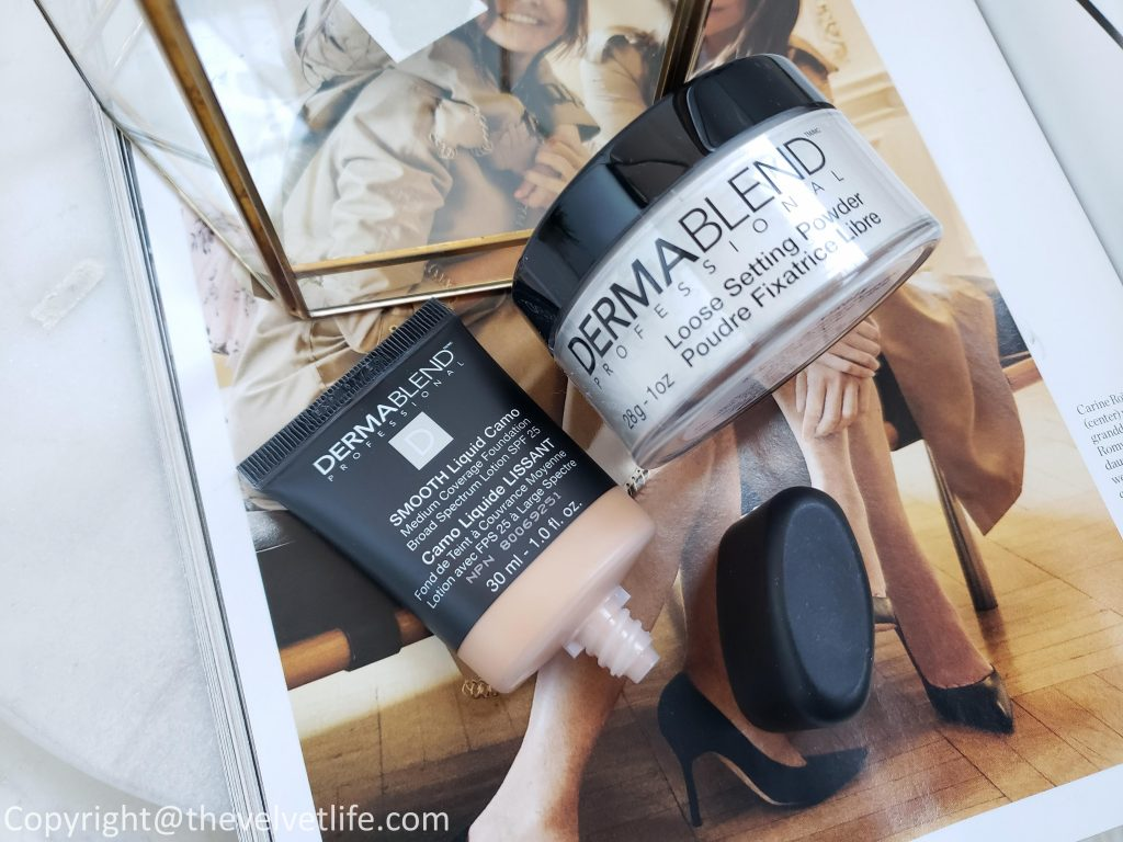 Dermablend - Smooth Liquid Camo Foundation, Loose Setting Powder