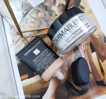 Dermablend – Smooth Liquid Camo Foundation, Loose Setting Powder
