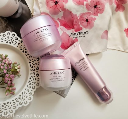 Shiseido White Lucent Range – NEW