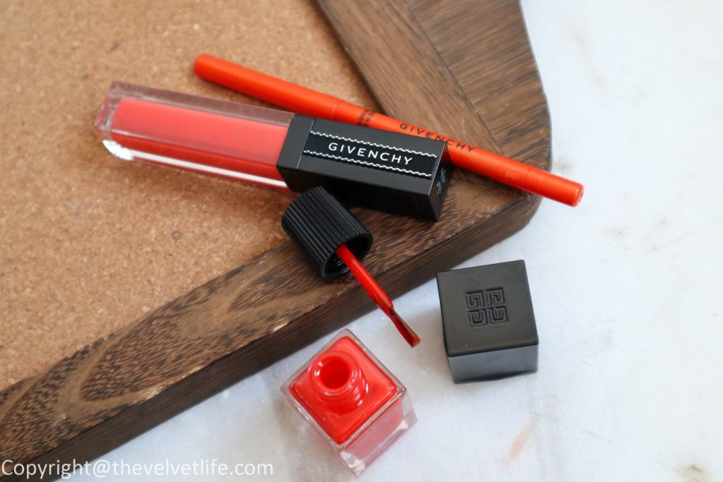 New Givenchy Beauty Solar Pulse Summer 2019 Collection review swatches of Healthy Glow Powder Marble Edition, Khol Couture Waterproof Eye Cream, Gloss Interdit Vinyl