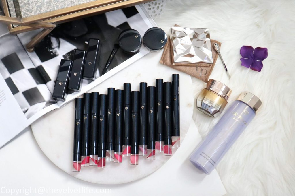 Cle de Peau Beaute spring summer 2019 review swatches new refined lip luminizer 1 2 3 4 5 6 7 8 9 10 11 12 506 507, rouge a levres 16, 17, 18, luminizing face enhancer 18, cream eye color 308,309, Vitality Enhancing Eye Mask Supreme, enhancing eye contour cream supreme