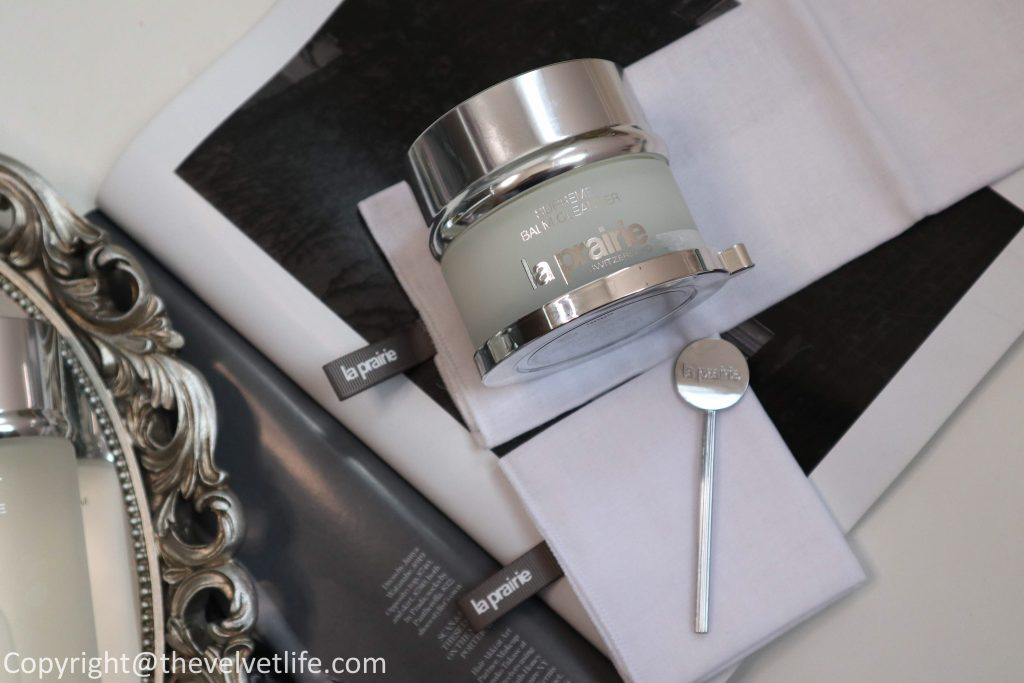 New La Prairie Supreme Balm Cleanser and Crystal Micellar Water Eyes Face review