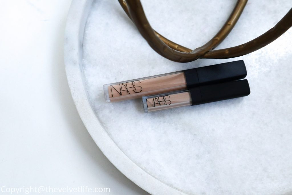 Nars Mini Radiant Creamy Concealer, the new mini version, review and swatches