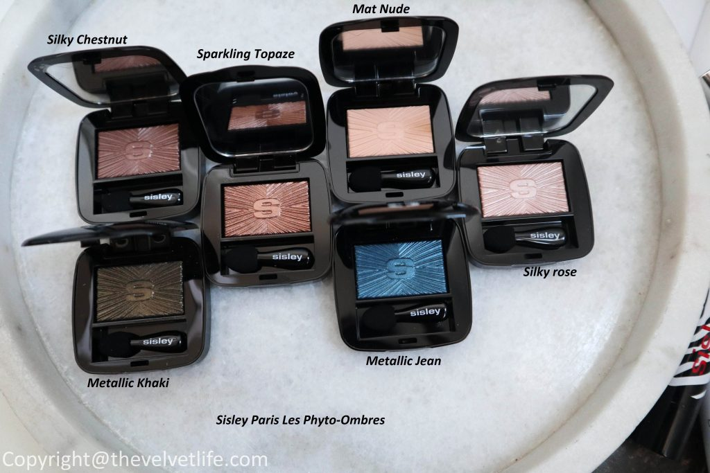 Sisley Paris Les Phyto-Ombres new review swatches