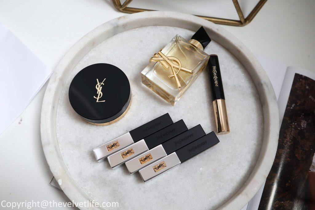 New ysl Yves Saint Laurent Rouge Pur Couture The Slim Sheer Matte review and swatches