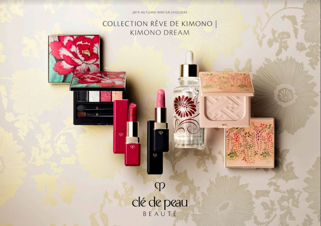 Cle de Peau Beaute Holiday 2019 called Kimono de Rêve Collection or Kimono Dream Collection review